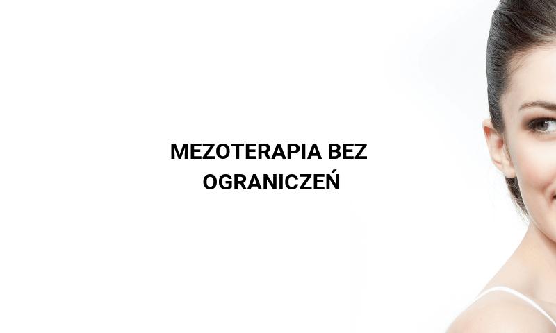 Mezoterapia bez ograniczeń — dla okolic oczu, ciała i włosów